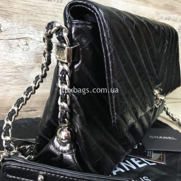 Женская сумка Chanel Chevron реплика фото5