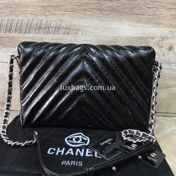 Женская сумка Chanel Chevron реплика фото4