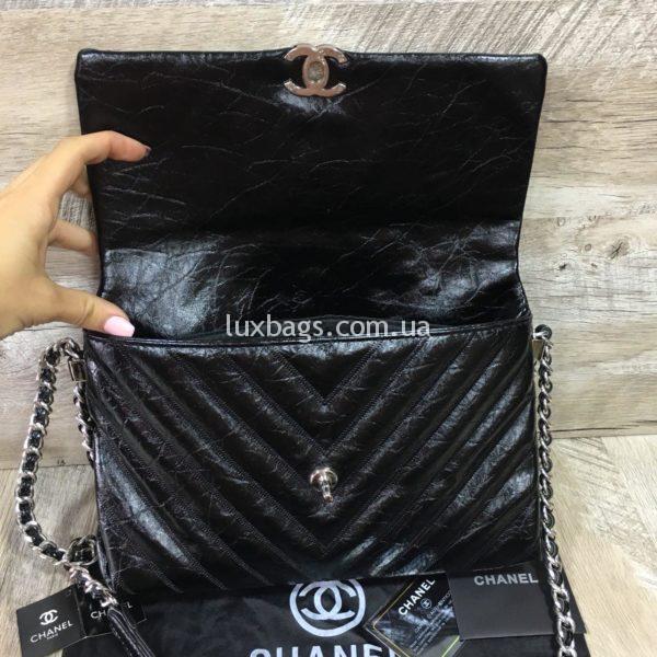 Женская сумка Chanel Chevron реплика фото3