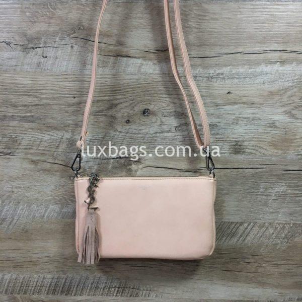 сумка-клатч Yves Saint Laurent розовая фото