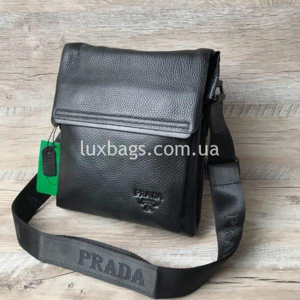 Мужская сумка через плечо Prada реплика фото 4