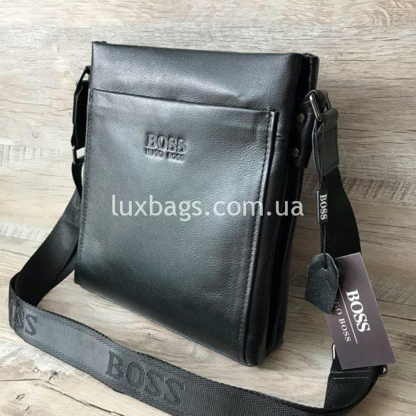 Мужская сумка через плечо Hugo Boss реплика фото 6