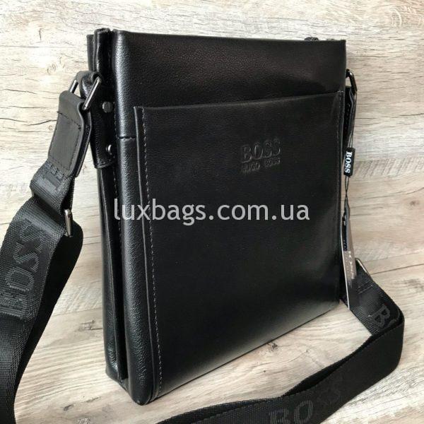 Мужская сумка через плечо Hugo Boss реплика фото 5