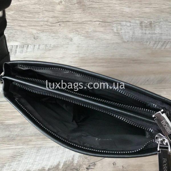 Мужская сумка через плечо Hugo Boss реплика фото 2