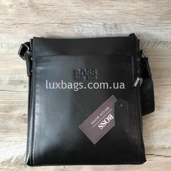 Мужская сумка через плечо Hugo Boss реплика фото