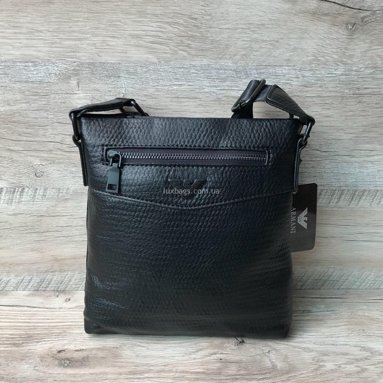 60b1479551e9 Мужская стильная сумка через плечо от Armani (Армани)