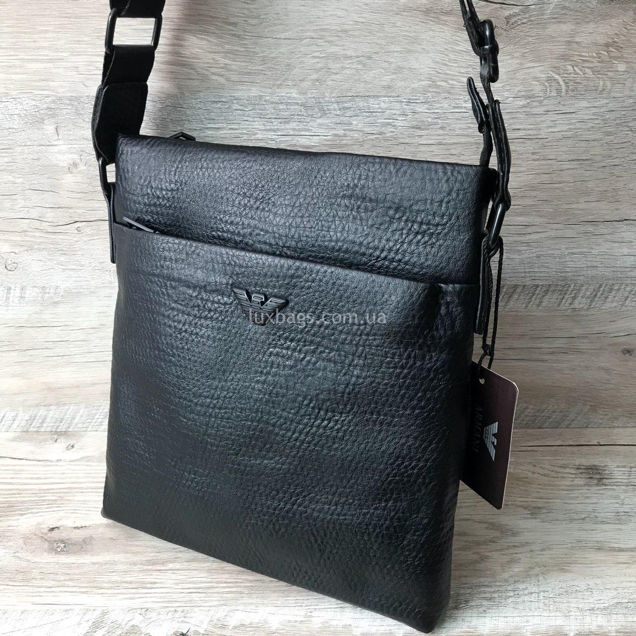 3170dde9933e Мужская сумка Armani (Армани) через плечо Купить Недорого