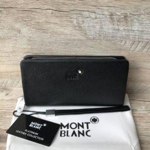 кошелек портмоне черный Mont Blanc