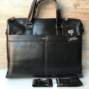 Кожаный портфель Mont Blanc формата А4 фото