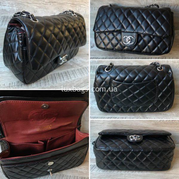 chanel 2.55 сумка купить черная