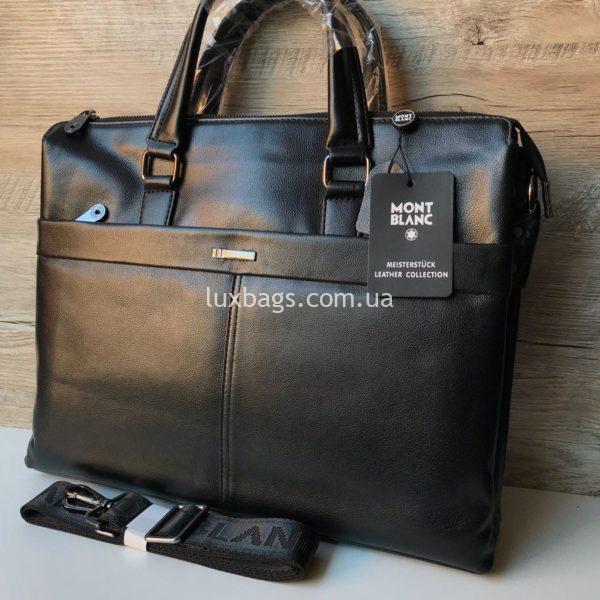 Кожаный портфель Mont Blanc формата А4