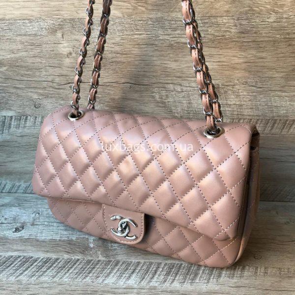 сумка шанель 2.55 розовая