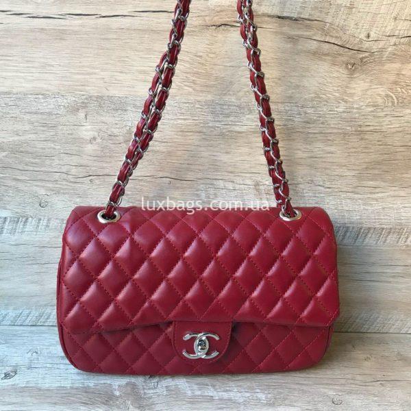 женская сумка шанель 2.55 купить красная