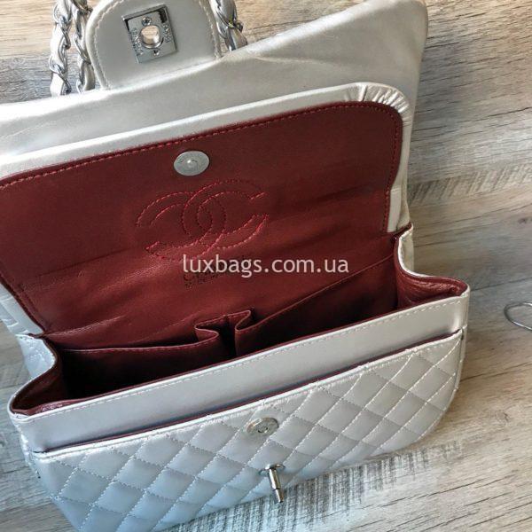 женская сумка шанель 2.55 купить белая