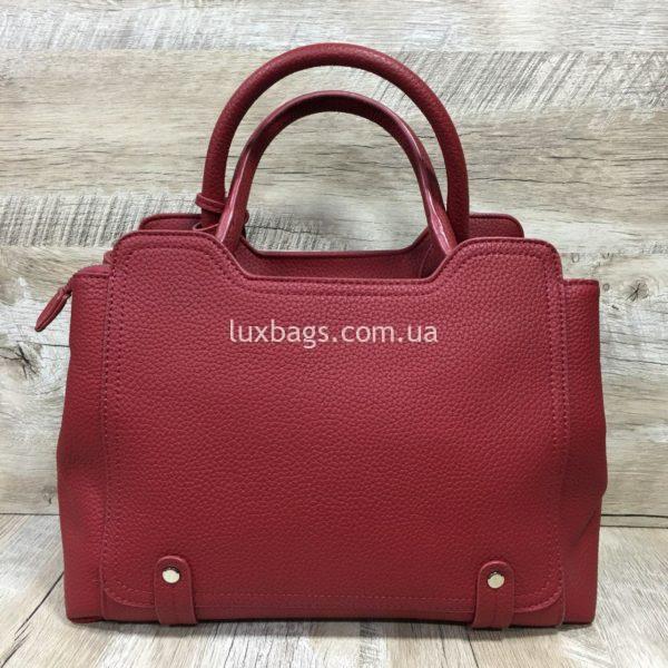 Женская сумка Yves Saint Laurent красная