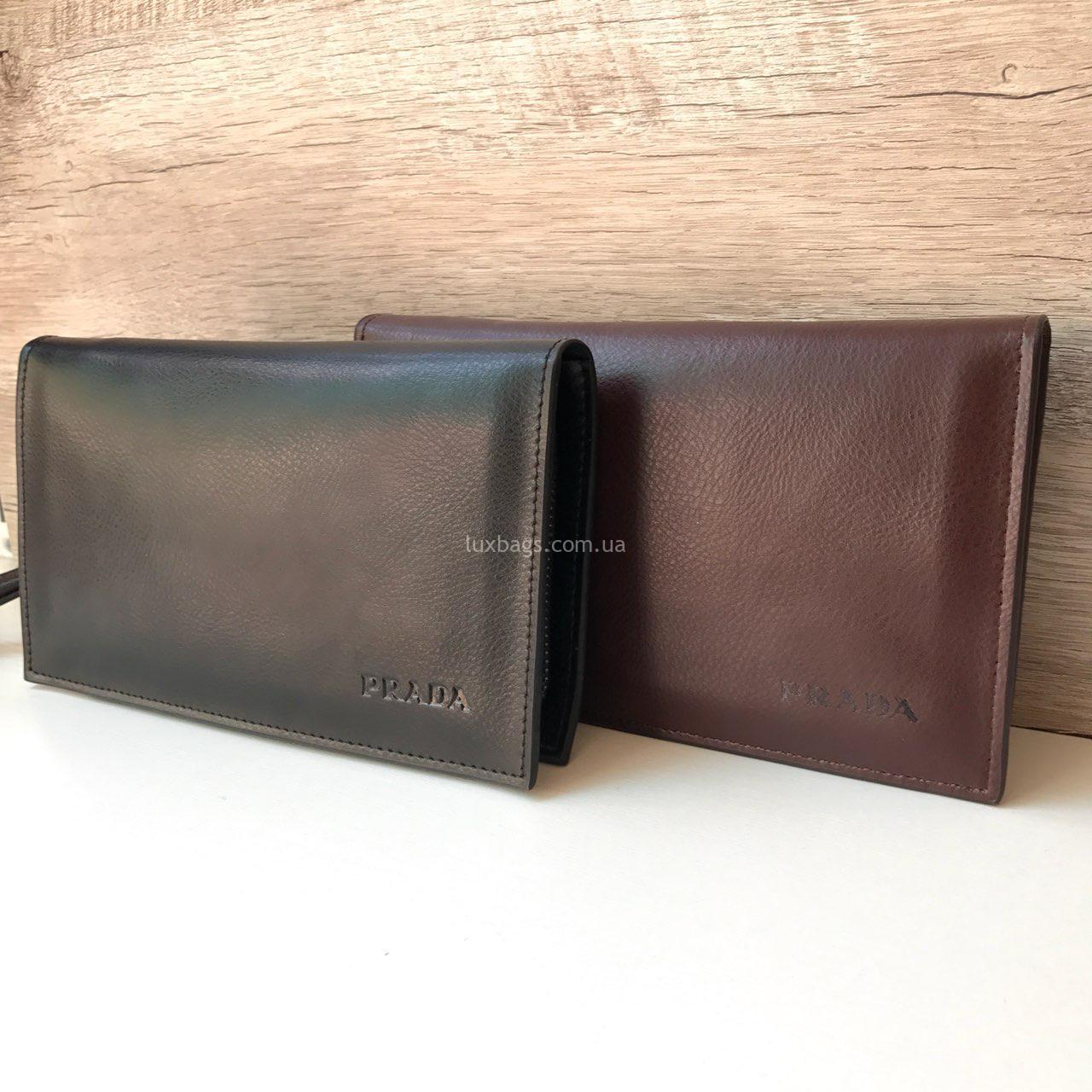 ff3b00725eac Купить Мужской клатч Prada organizer недорого на lux-bags