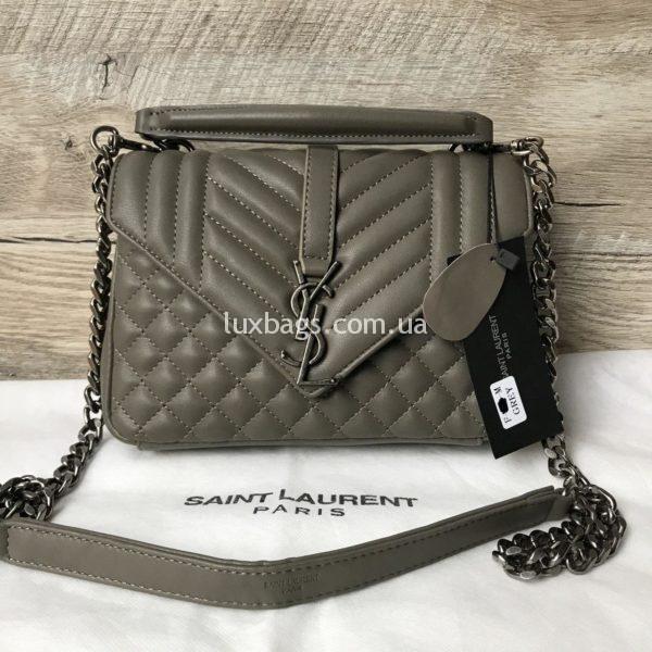Женская сумка клатч YSL через плечо фото