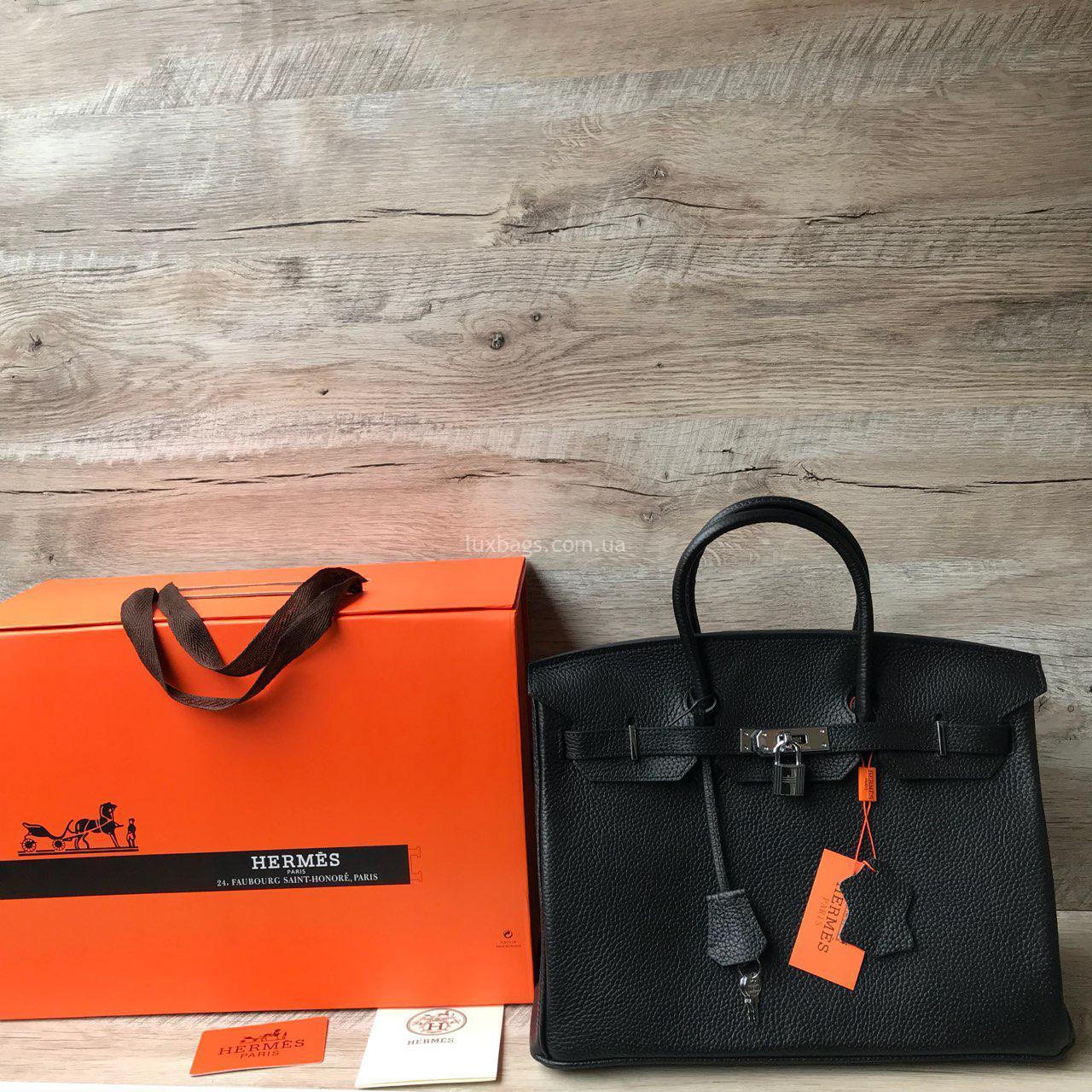 00a944f3187e Женская кожаная сумка Hermes Birkin купить на lux-bags