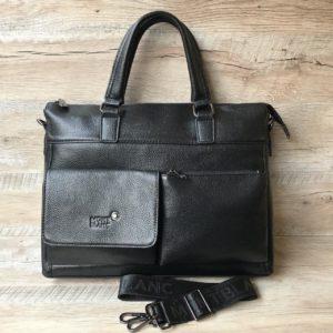 кожаный портфель Mont Blanc формата А4 2