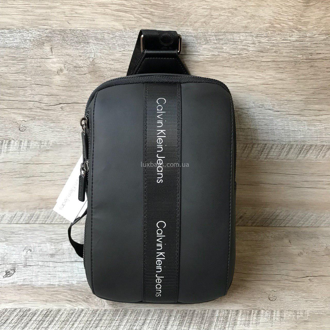 ede4d506 Мужская сумка бананка-слинг Calvin Klein Купить Недорого   lux-bags