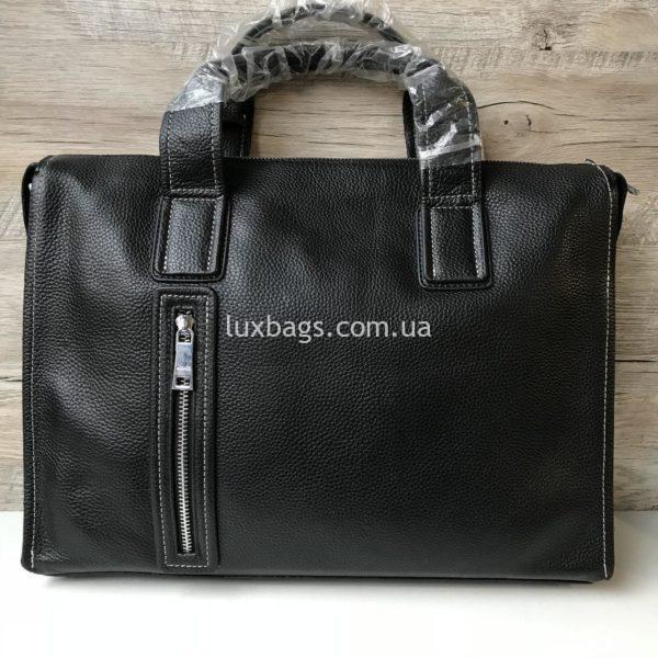 Мужской кожаный портфель Hermes 4