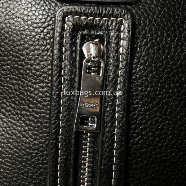 Мужской кожаный портфель Hermes 5