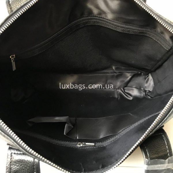 Мужской кожаный портфель Hermes 7