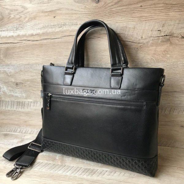 Мужской кожаный портфель Gucci 7