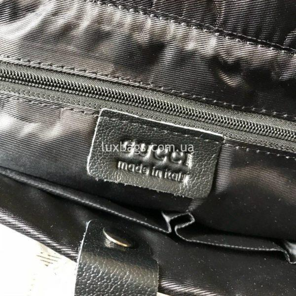 Мужской кожаный портфель Gucci 2