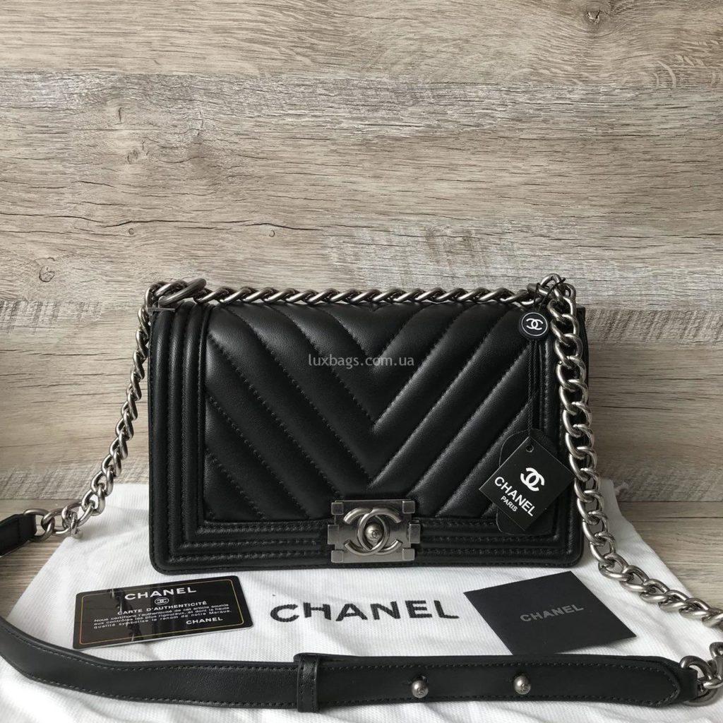сумка chanel boy