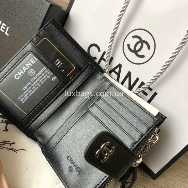 кожаный кошелёк Chanel 2