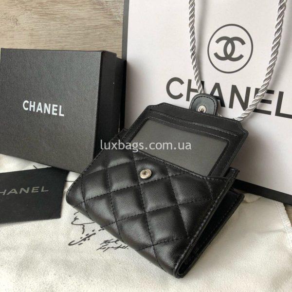 кожаный кошелёк Chanel 3