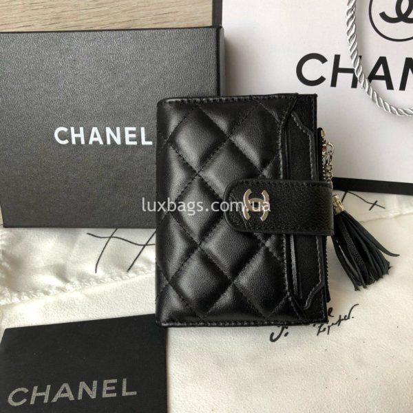 кожаный кошелёк Chanel 8