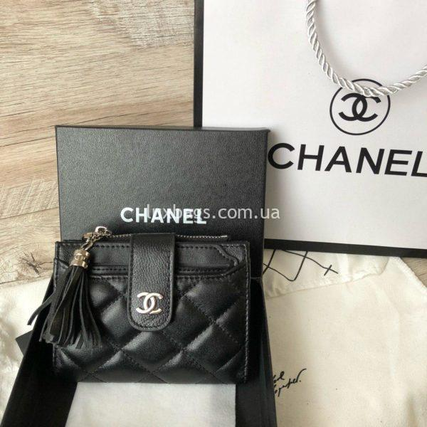 кожаный кошелёк Chanel 9