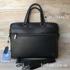 деловой мужской портфель из кожи 8