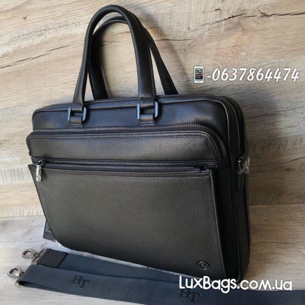 деловой мужской портфель из кожи 2