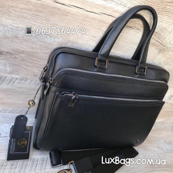 деловой мужской портфель из кожи 3