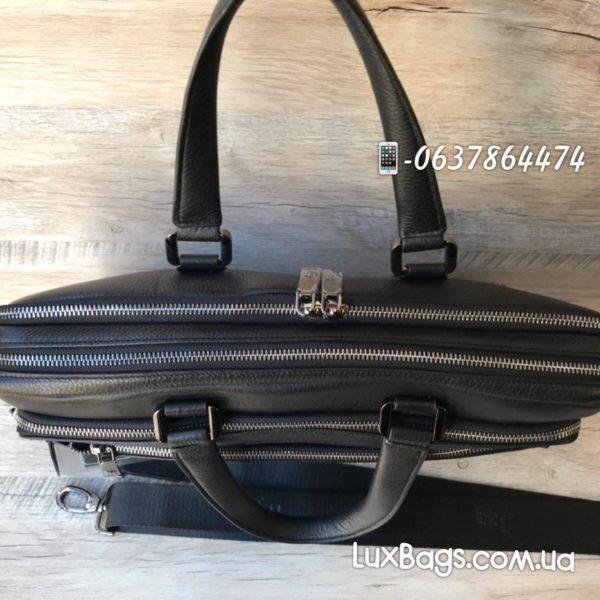 деловой мужской портфель из кожи 5