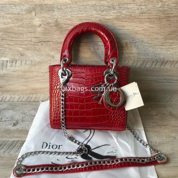 Dior Lady красная