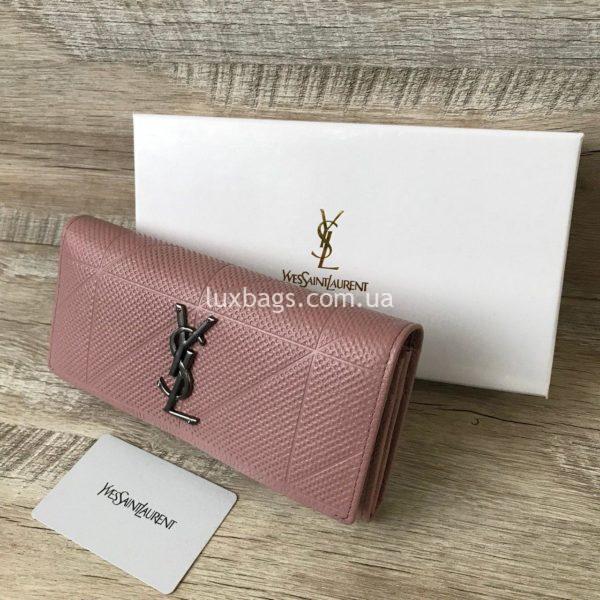 кошелек женский розовый 2