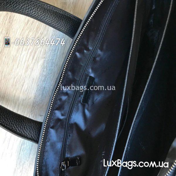 мужской портфель черный