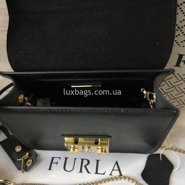 черная сумка Furla metropolis 1
