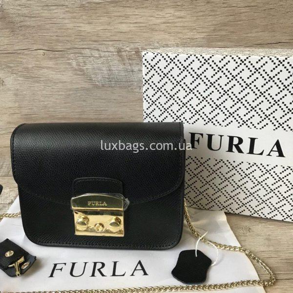 черная сумка Furla metropolis 3