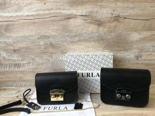черная сумка Furla metropolis 4