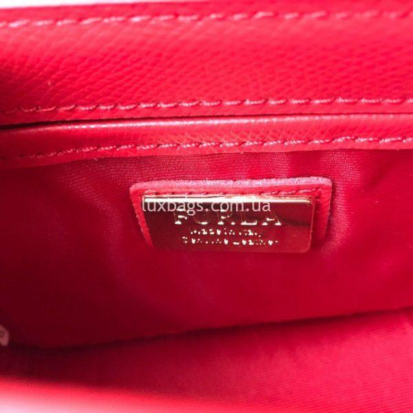 красная сумка Furla metropolis 4