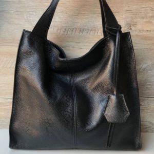 кожаная итальянская сумка на плечо