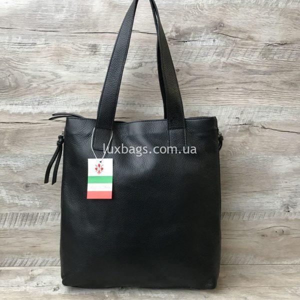 женская сумка на плечо из кожи