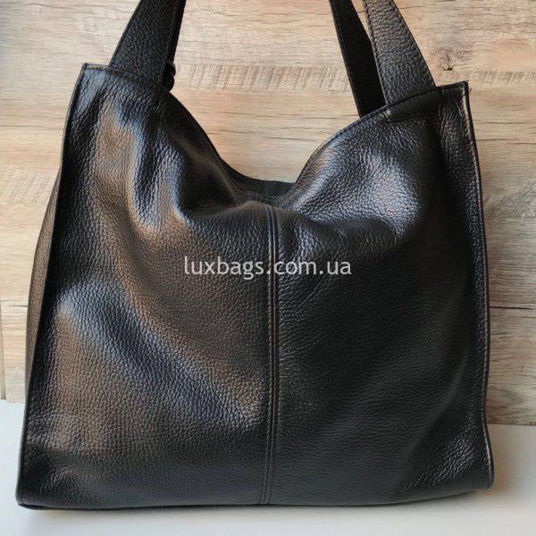 кожаная итальянская сумка на плечо 3