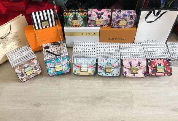 цветные сумки фурла метрополис