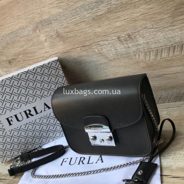 сумка furla черная 1
